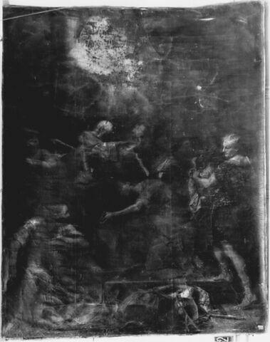 Ananie imposant les mains à saint Paul