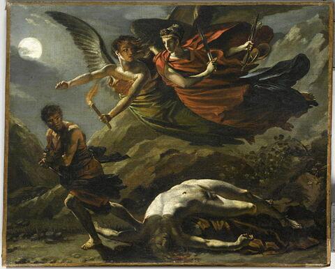 La Justice et la Vengeance divine poursuivant le crime