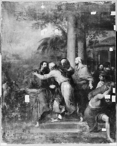 Saint Paul recevant les adieux des prêtres éphésiens.