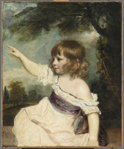 Portrait de Francis George Hare (1786-1842) dit Master Hare et dit aussi Infancy