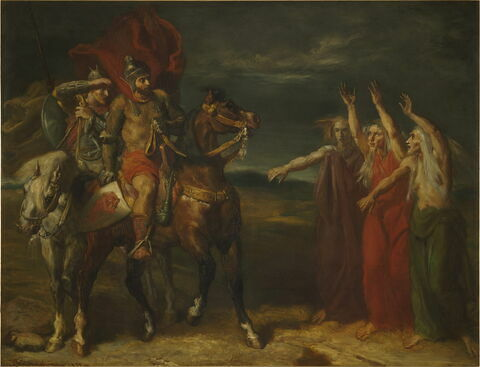 Macbeth et les trois sorcières