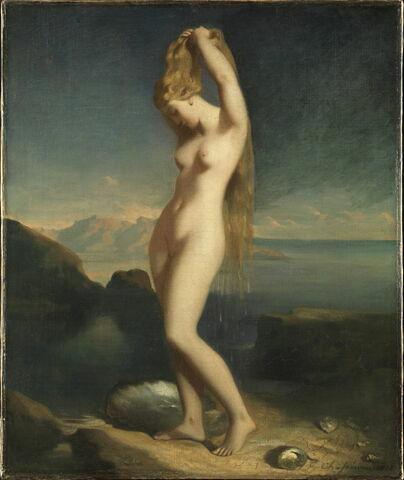 Vénus anadyomène, dite aussi Vénus marine.