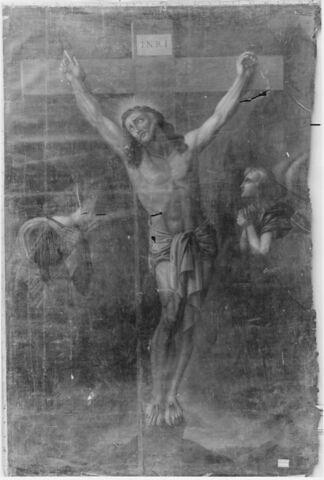 Christ en croix.