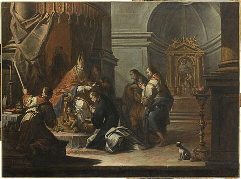 Le Baptême de saint Daniel par saint Prosdocime de Padoue