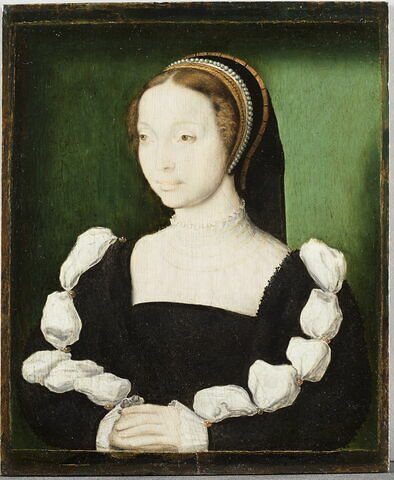 Anne Stuart, dit autrefois Portrait présumé d'Anne de La Queille, ou encore:  Portrait de Jacqueline de Rohan-Gyé.