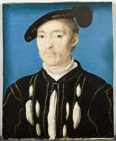 Portrait d'homme, dit autrefois :Le chevalier d'Ambre