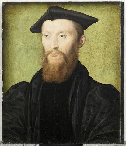 Mellin de Saint-Gelais, abbé de Reclus (1491-1558), poète et musicien, aumônier du Dauphin et bibliothécaire du roi à Fontainebleau