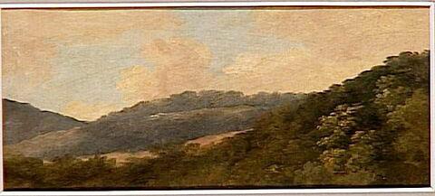 À la Fayolle, près de Nemi: collines boisées