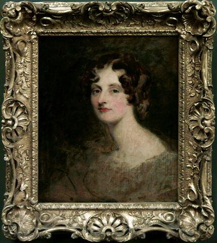 Portrait de Lady Louisa Georgina Bathurst (1792-1874), fille aînée de Henry, 3e comte Bathurst, homme d'État, dit autrefois à tort Portrait de Mrs Bannister