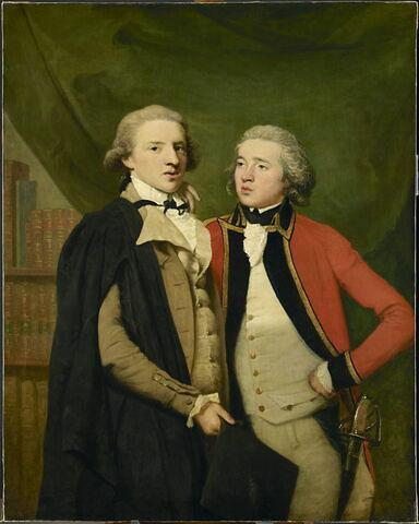 Portrait de deux amis, dit auparavant Portrait de deux frères