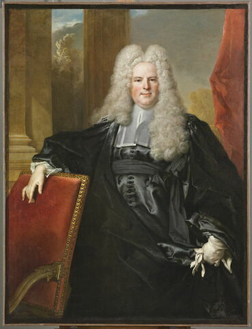 Portrait, dit à tort du Président Guillaume de Lamoignon (1683-1772)