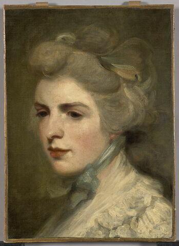 """Portrait de Miss Frances (""""Fanny"""") Kemble (1759-1822), actrice"""