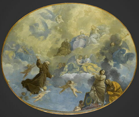 La Glorification de saint Bernardin de Sienne (1380-1444)