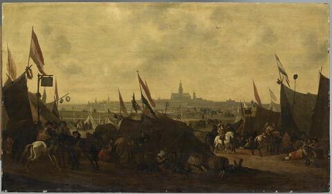 La Prise de la ville de Hulst par les Hollandais en 1645