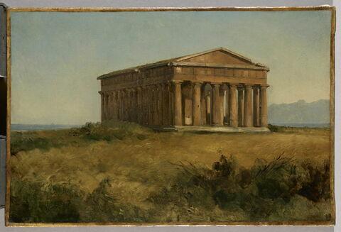 Le temple de Neptune à Paestum
