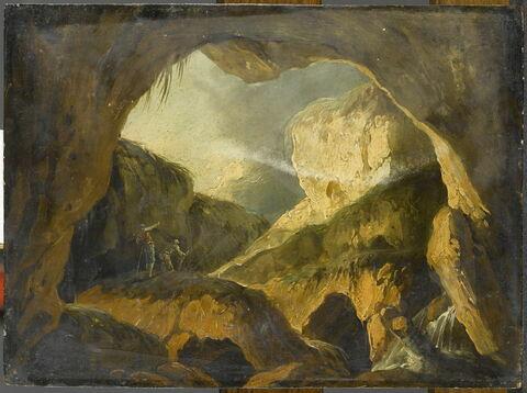 Vue d'une grotte