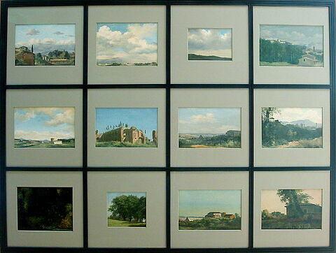 face, recto, avers, avant ; vue d'ensemble ; vue avec montage © 2003 Musée du Louvre / Peintures