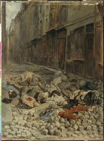 La Barricade, dit aussi Souvenir de guerre civile. Juin1848