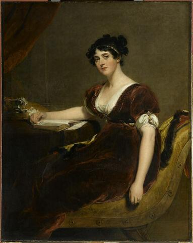 Portrait de Mrs Isaac Cuthbert