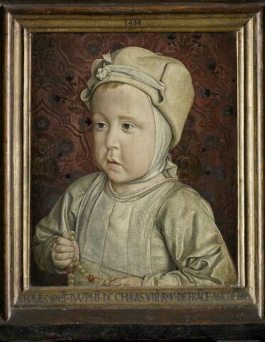 Portrait du dauphin Charles-Orlant (1492-1495), fils du roi Charles VIII et de Anne de Bretagne