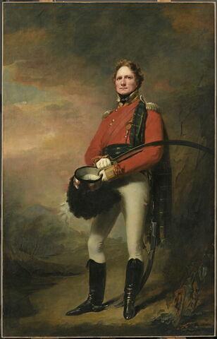 Portrait du major James Lee Harvey (vers 1780-1849)