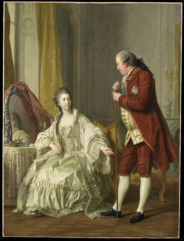 Le Portrait du marquis de Marigny (1727-1781) et de sa femme, née Marie-Françoise Constance Julie Filleul (1751-1822)