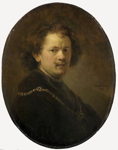 Autoportrait, tête nue