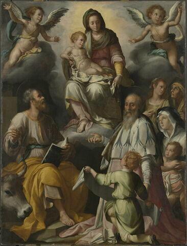 L'Apparition de la Vierge à saint Luc et à saint Yves