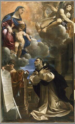 L'Apparition de la Vierge et de l'Enfant Jésus à saint Hyacinthe