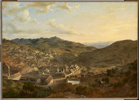 Vue de Real del Monte, province de Hidalgo (Mexique)