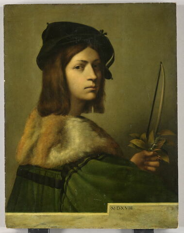 Portrait d'un violoniste (?)