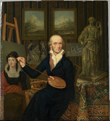 Portrait de l'artiste dans son atelier