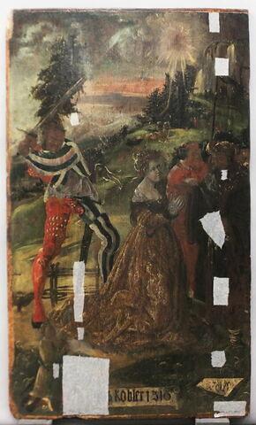 face, recto, avers, avant ; vue d'ensemble ; vue sans cadre © 2017 Musée du Louvre / Peintures