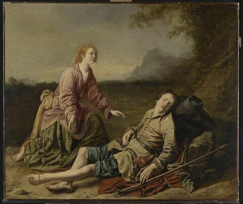 Scène pastorale : Granida et Daifilo?