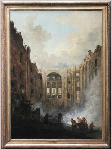 face, recto, avers, avant ; vue d'ensemble ; vue avec cadre © 2018 Musée du Louvre / Peintures