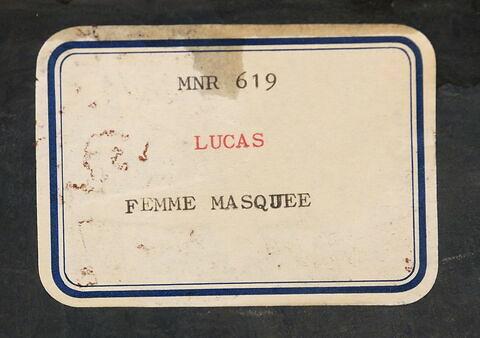 dos, verso, revers, arrière ; détail étiquette © 2017 Musée du Louvre / Peintures