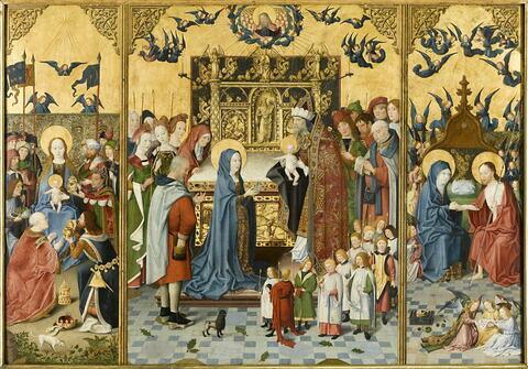 Retable des sept joies de la Vierge