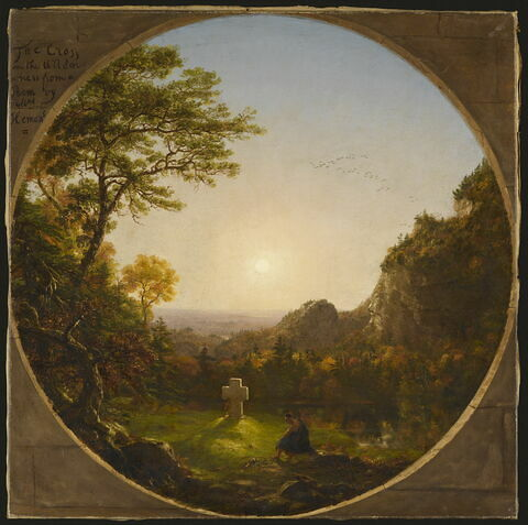La Croix dans la solitude, dit aussi La Croix dans la contrée sauvage, 1845