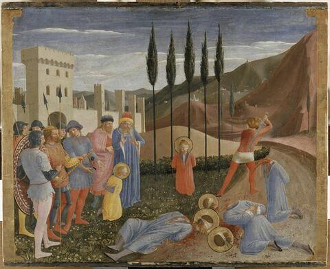 Le Martyre des saints Cosme et Damien