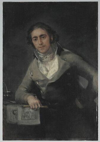 Portrait d'homme, dit aussi Portrait de Don Evaristo Pérez de Castro (1778-1849)