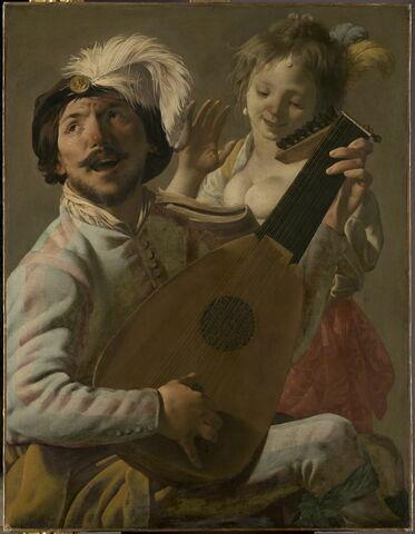 Le Duo, joueur de luth et chanteuse