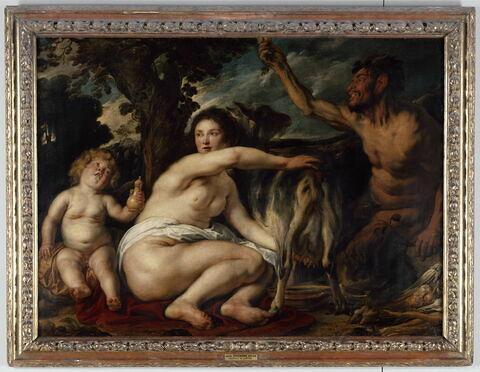 Jupiter enfant nourri par la chèvre Amalthée