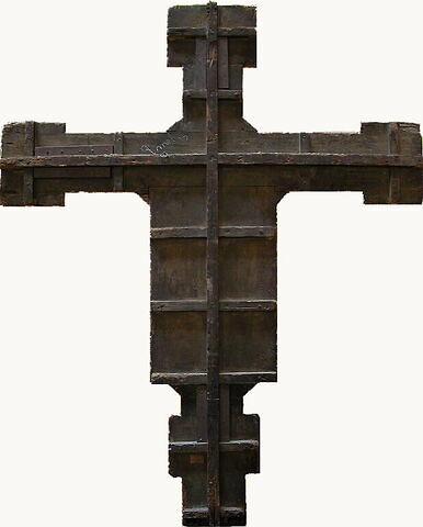 dos, verso, revers, arrière ; vue d'ensemble ; vue avec cadre © 2005 Musée du Louvre / Peintures