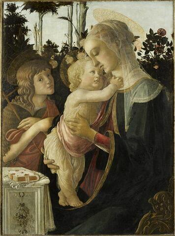 La Vierge et l'Enfant avec le jeune saint Jean Baptiste