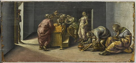 La Naissance de saint Jean Baptiste et l'imposition de son nom