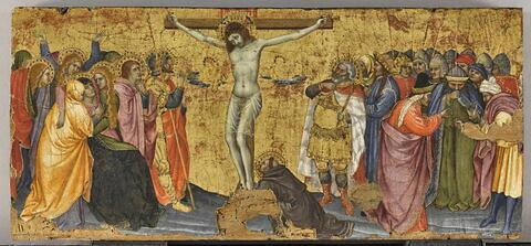 La Crucifixion avec saint François agenouillé portant les stigmates
