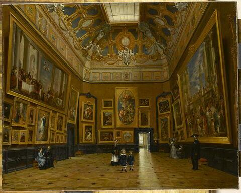 Le Salon Carré du Louvre