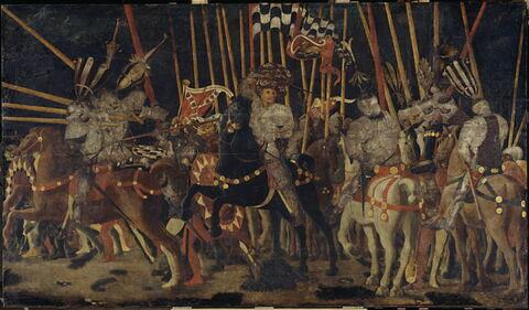 La Bataille de San Romano : la contre-attaque de Micheletto Attendolo da Cotignola