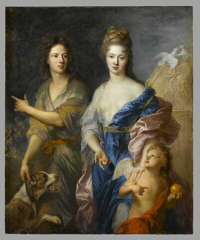 face, recto, avers, avant ; vue d'ensemble ; vue sans cadre © 2009 RMN-Grand Palais (musée du Louvre) / Stéphane Maréchalle