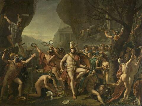 Léonidas aux Thermopyles.